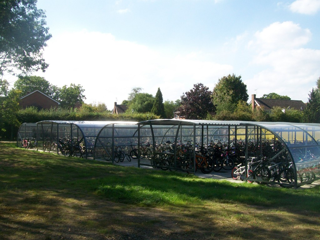 Bike Shelter for Schools and Colleges