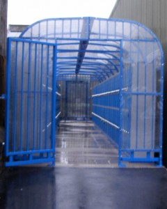 Domed Roof Locker Compound - Apex Shelters