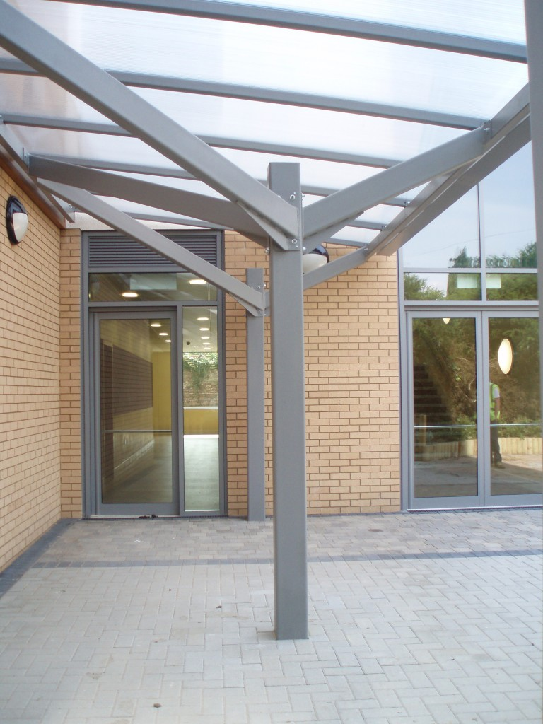 Bespoke Entrance Canopy and Walkway