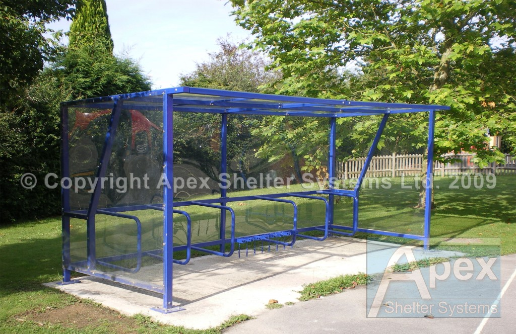 Scooter Shelter and Cycle Shelter - Apex Shelters