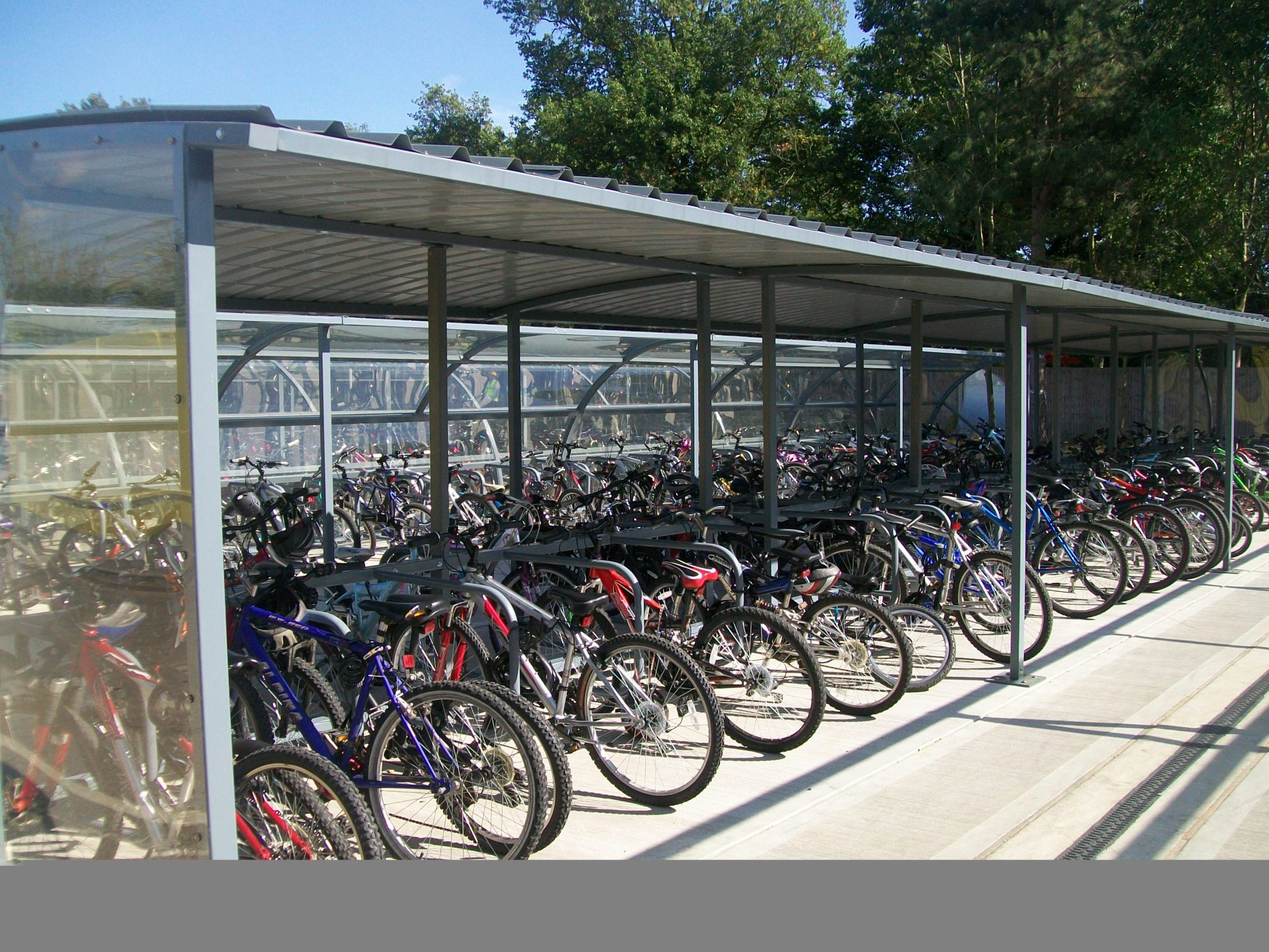 Gamma Bike Shelter Apex Shelters
