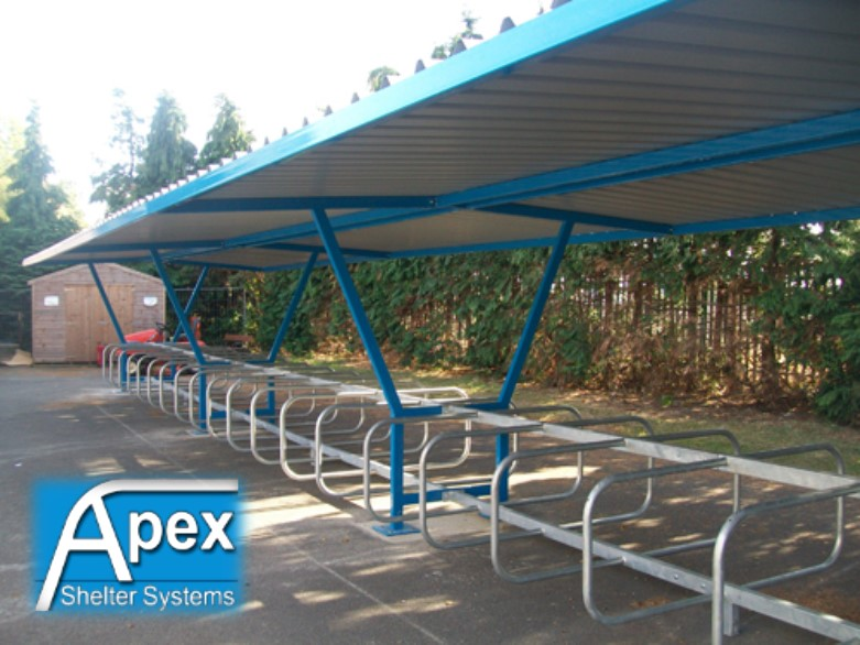 Delta P iR Cycle Shelter