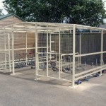 Lambda Cycle Cages
