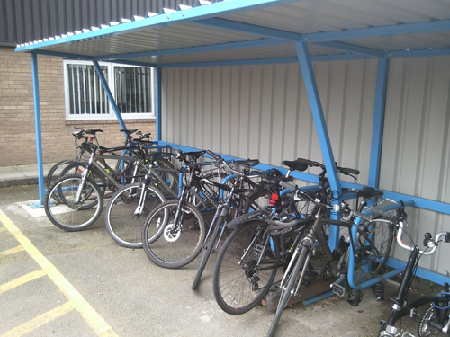 ThetaPep Cycle Shelter