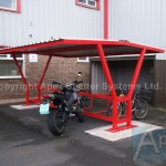 Delta P Motorcycle and Cycle Shelter