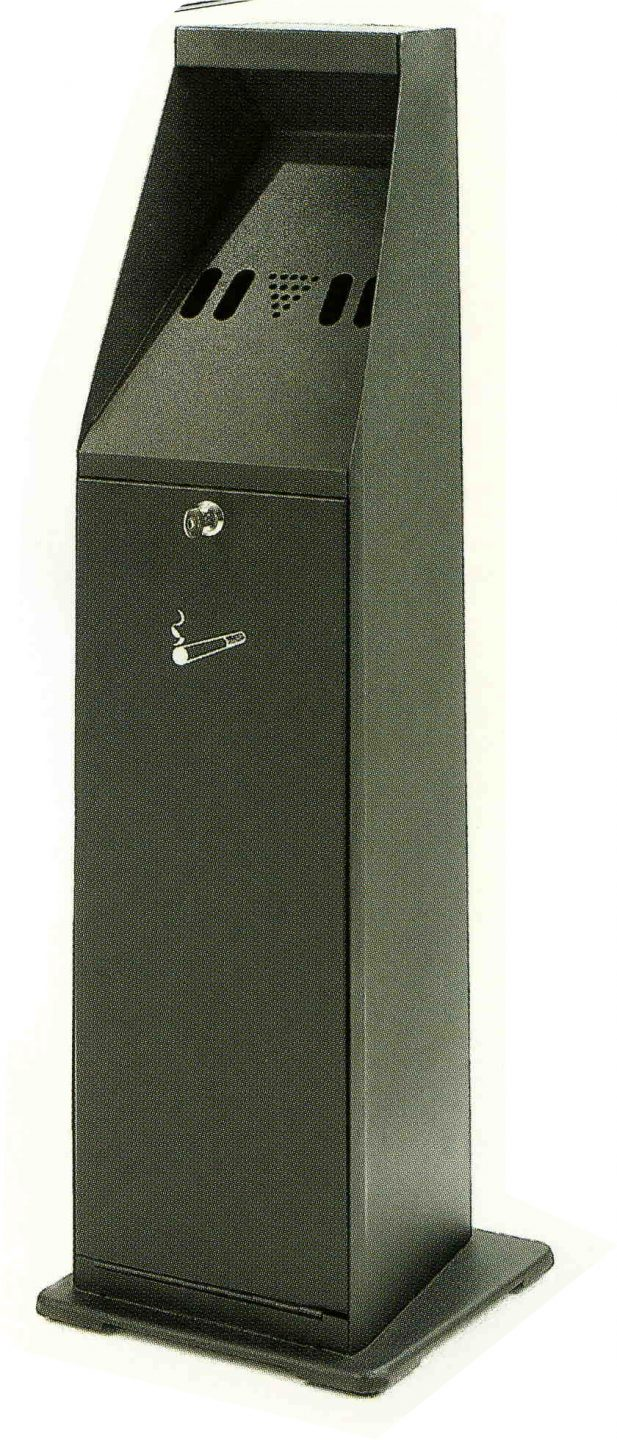 Floor Mounted Cigarette Bin