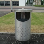 Kappa lb3 Stainless Steel Litter Bin