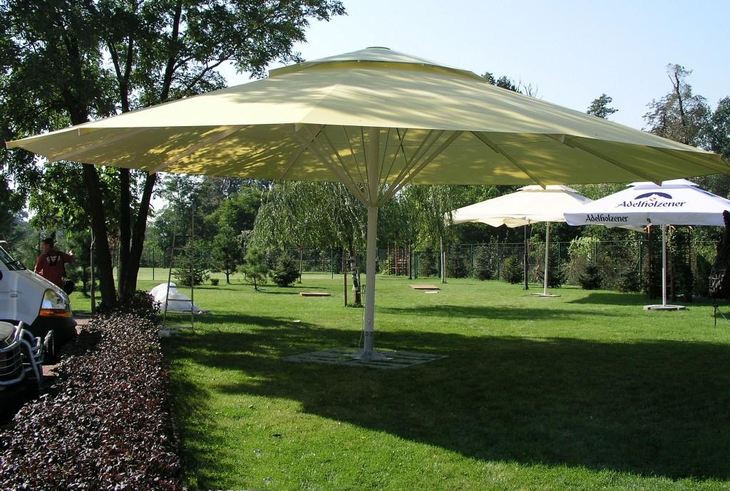 Zeta Large Umbrellas and Parasols - Apex Shelters