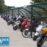 Alpha T Motorcycle Shelters