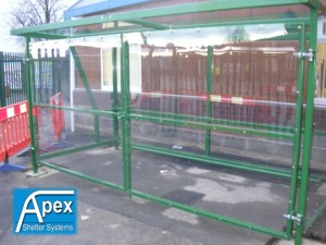 Secure Theta Pram Compound - Apex Shelters