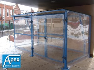 Theta Buggy Shelter - Apex Shelters