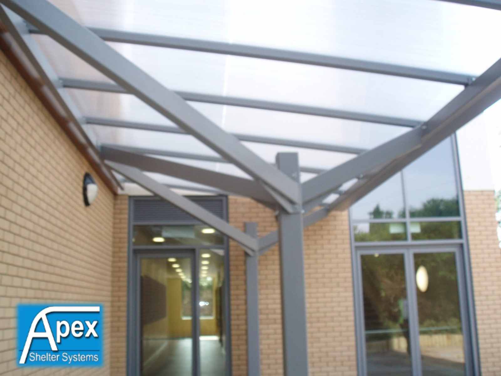 Paisley Entrance Canopy & Paisley Entrance Canopy Door Canopy | Apex Shelters