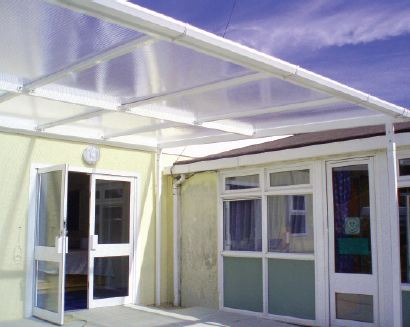 Stirling Entrance Canopy