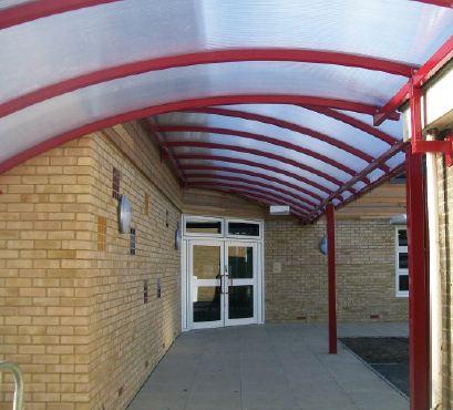 Dundee Entrance Canopy