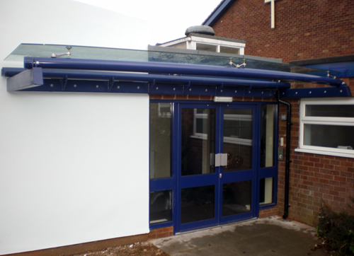 Orkney Entrance Glass Canopies