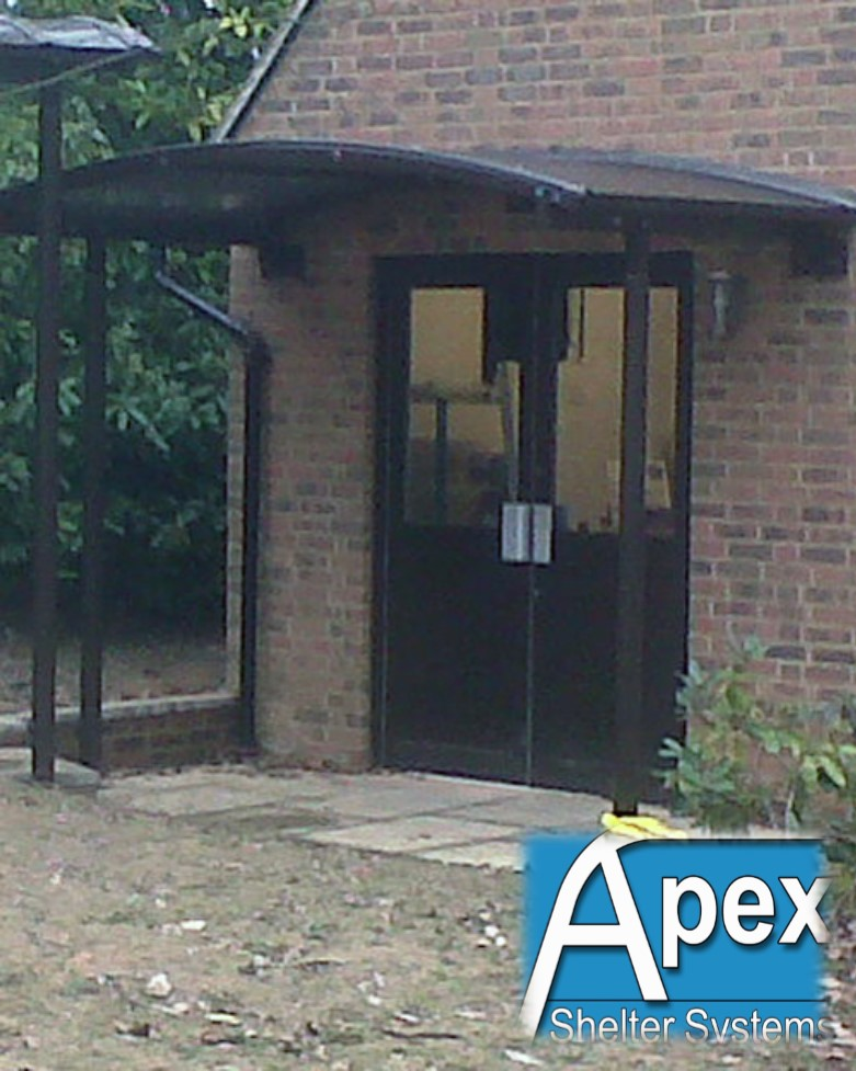 Entrance Canopy - Breamar by Apex Shelter Systems