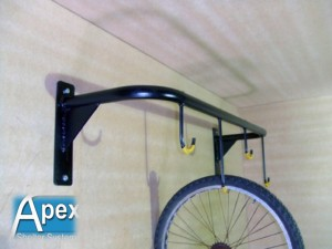 Vertical Bike Hooks Cycle Rack