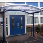 Entrance Canopy with Logo