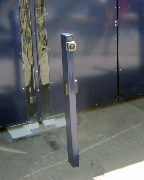Electric Gate Fob to Mobility Scooter Shelter