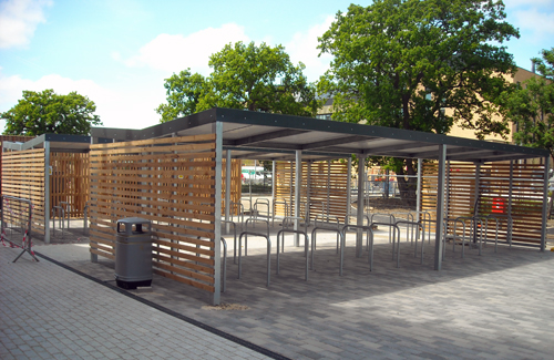 Gullwing Bike Shelters