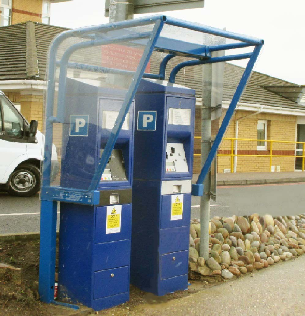 Pay and Display Shelter