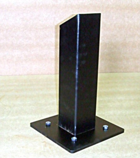 Square Apex Top Bollard
