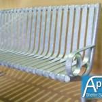 Steel Slatted Seat