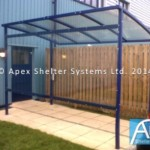 Smoking Shelter – Cumbria Design by Apex Shelters