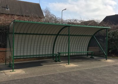 1 x 6mtr Economy Alpha Pep Waiting Shelter