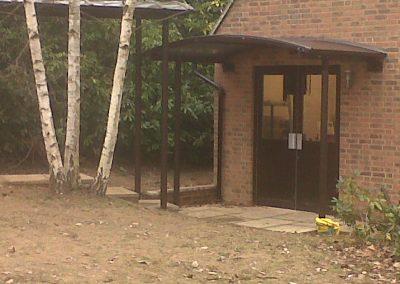 Braemar Entrance Canopy