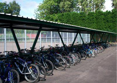 Delta Bike Shelter