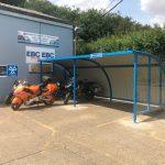 Wide Alpha Bike Shelters
