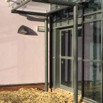 Wakefield Glass Entrance Canopy
