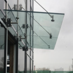Frameless Glass Canopy